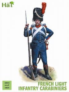 Napoleonics French Light Infantry Carabiniers · HAT 2809 ·  HäT Industrie · 28 mm