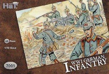 Deutsche Infanterie · HAT 7001 ·  HäT Industrie · 1:72