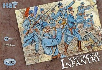Französische Infanterie · HAT 7002 ·  HäT Industrie · 1:72