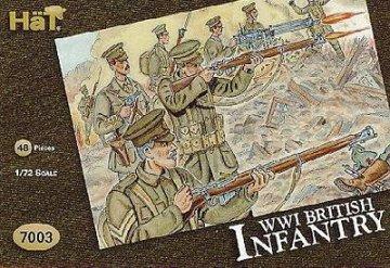 Britische Infanterie · HAT 7003 ·  HäT Industrie · 1:72