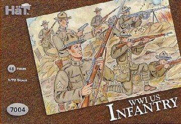 US Infanterie 1. Weltkrieg · HAT 7004 ·  HäT Industrie · 1:72