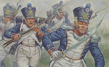 Franzoesische Infanterie · HAT 7008 ·  HäT Industrie · 1:72