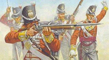 Waterloo, britische Infanterie · HAT 7009 ·  HäT Industrie · 1:72