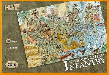 Australische Infanterie · HAT 7016 ·  HäT Industrie · 1:72