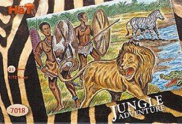 Abenteuer im Dschungel · HAT 7018 ·  HäT Industrie · 1:72