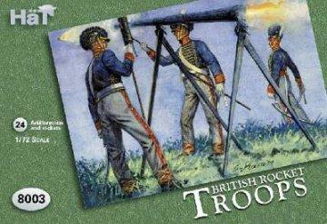 Britische Rocket Troops · HAT 8003 ·  HäT Industrie · 1:72