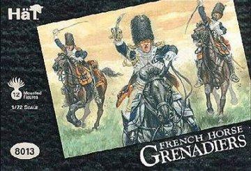 Franzoesische Grenadiere zu Pferd · HAT 8013 ·  HäT Industrie · 1:72
