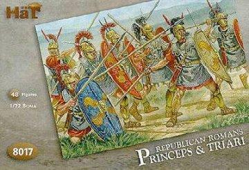Roemische republikanische Truppen, Princeps und Triari · HAT 8017 ·  HäT Industrie · 1:72