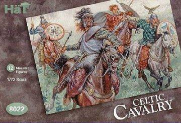 Keltische Kavallerie · HAT 8022 ·  HäT Industrie · 1:72