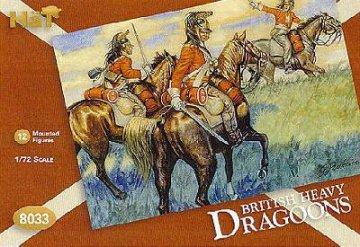 Britische schwere Dragoner · HAT 8033 ·  HäT Industrie · 1:72