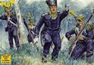 Franzoesische leichte Infanterie · HAT 8042 ·  HäT Industrie · 1:72