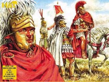 Roemische Offiziere, Punische Kriege · HAT 8051 ·  HäT Industrie · 1:72