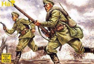 Russische Infanterie · HAT 8061 ·  HäT Industrie · 1:72