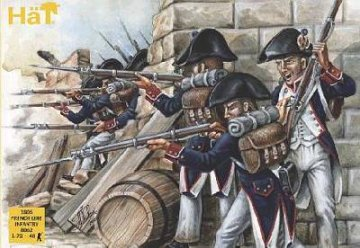 Napoleonic 1805 French Line Infantry · HAT 8062 ·  HäT Industrie · 1:72