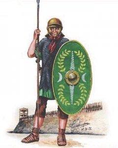Roemische Auxiliare · HAT 8065 ·  HäT Industrie · 1:72