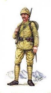 Tuerkische Infanterie 1.  Weltkrieg · HAT 8070 ·  HäT Industrie · 1:72