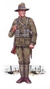 Australische Infanterie 1. Weltkrieg · HAT 8071 ·  HäT Industrie · 1:72
