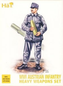 WWI Austrian Infantry Heavy Weapons Set · HAT 8081 ·  HäT Industrie · 1:72