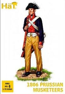 Preussische Musketiere von 1806 · HAT 8083 ·  HäT Industrie · 1:72