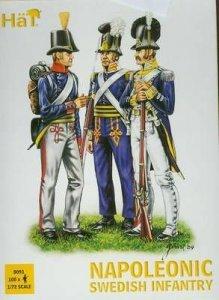 Napoleonische schwedische Infanterie · HAT 8091 ·  HäT Industrie · 1:72