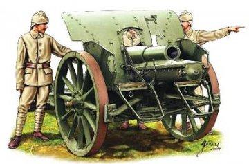 Ottomanische Artillerie · HAT 8094 ·  HäT Industrie · 1:72