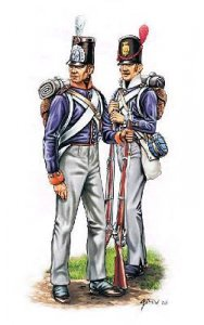 Waterloo, hollaendische Miliz und belgische Infanterie · HAT 8096 ·  HäT Industrie · 1:72