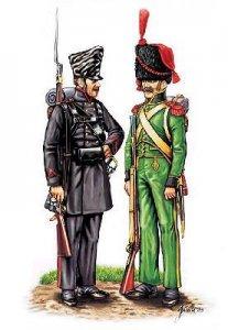 Luetzowsches Freikorps und nassauische Grenadiere · HAT 8097 ·  HäT Industrie · 1:72