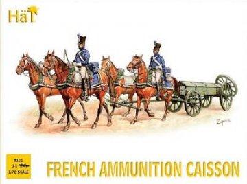 French Ammunition Caisson · HAT 8101 ·  HäT Industrie · 1:72
