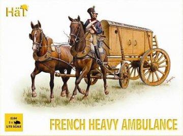 French Heavy Ambulance · HAT 8104 ·  HäT Industrie · 1:72