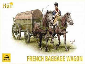 French Baggage Wagon · HAT 8106 ·  HäT Industrie · 1:72