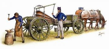 French Field Forge · HAT 8107 ·  HäT Industrie · 1:72