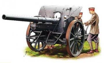 Dt. Artillerie WWI · HAT 8109 ·  HäT Industrie · 1:72