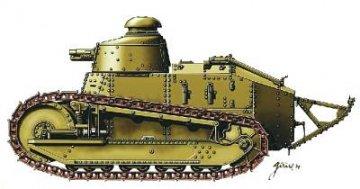 FT 17 Panzer 37 mm · HAT 8113 ·  HäT Industrie · 1:72