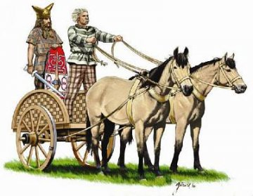 Celtic Chariot With Warrior · HAT 8139 ·  HäT Industrie · 1:72