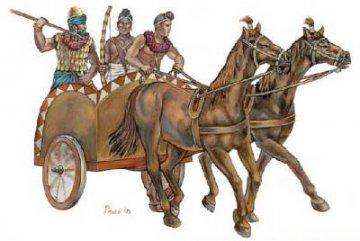 Indian Chariot · HAT 8143 ·  HäT Industrie · 1:72