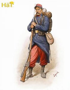 WWI French Infantry (1914) · HAT 8148 ·  HäT Industrie · 1:72