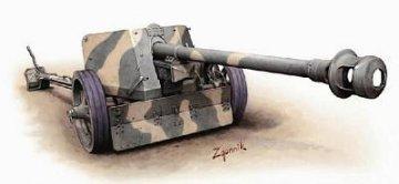 German Pak 40 75 mm ATG Anti-Tank Gun · HAT 8150 ·  HäT Industrie · 1:72