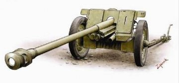 German 7,62 cm Pak 36(R) Anti-Tank Gun · HAT 8156 ·  HäT Industrie · 1:72
