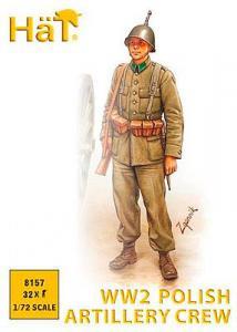 WWII Polnische Artillerie · HAT 8157 ·  HäT Industrie · 1:72