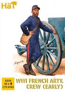 WWI Französische Artillerie Mannschaft · HAT 8159 ·  HäT Industrie · 1:72