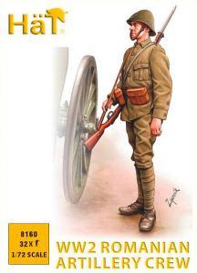 WWII Rumänische Artillere · HAT 8160 ·  HäT Industrie · 1:72