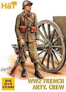 WWI Französische Artillerie Mannschaft · HAT 8162 ·  HäT Industrie · 1:72