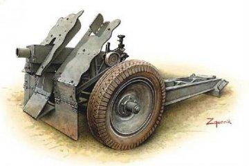 German 7,5cm IG 18 Gun · HAT 8163 ·  HäT Industrie · 1:72