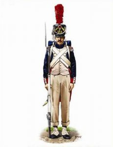French Middle Guard Fusilier Grenadiers · HAT 8167 ·  HäT Industrie · 1:72