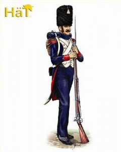 French Guard Chasseurs · HAT 8170 ·  HäT Industrie · 1:72