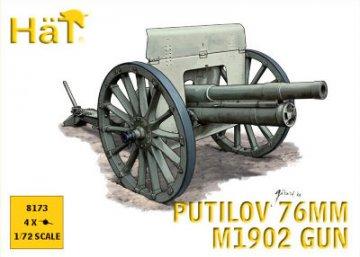 WWI Putilov 76m M1902 Gun · HAT 8173 ·  HäT Industrie · 1:72