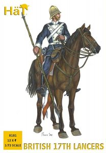 Kolonial-Kriege: Britisches Lanziere zu Pferd · HAT 8181 ·  HäT Industrie · 1:72