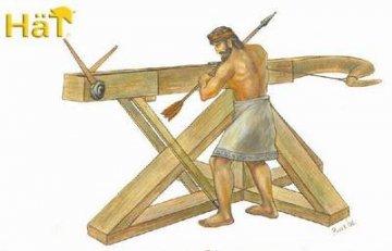 Greek Catapult · HAT 8184 ·  HäT Industrie · 1:72