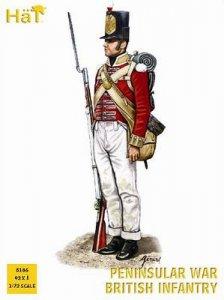 Nap. Peninsular British Infantry · HAT 8186 ·  HäT Industrie · 1:72