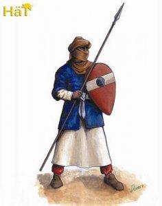 El Cid Almoravid Infantry · HAT 8189 ·  HäT Industrie · 1:72